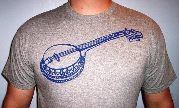 Banjo T-shirt size large unisex