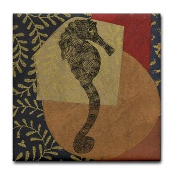 Seahorse Tile Bold