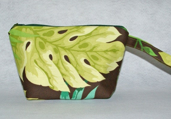 Palm Leaf Cosmetic Bag Free Shipping