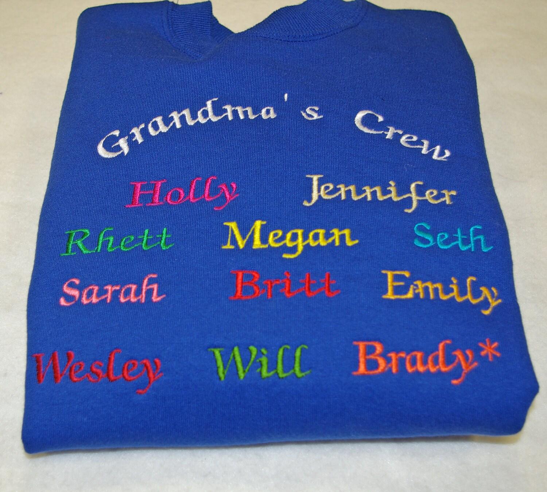 Custom embroidered sweatshirts cardigan with buttons for Custom embroidered t shirts no minimum