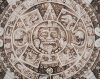 AZTEC Calendar --MEXICO--