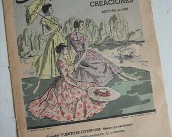1948 SIMPLICITY FASHION ADVERTISEMENT