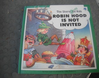Robin Hood is not Invited Book Hardcover from England printed in India