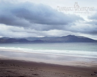 St Patricks Day, March, Winter,Inch Beach, Ireland, Storm Clouds, Mountains, Ring of Kerry, Margaret Dukeman, Fine Art Photography
