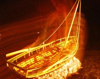 St Patricks Day, March, Sculpture, Ring of Kerry, Ireland, Abstract, Midnight Sail, Dingle Ireland, Margaret Dukeman, Fine Art Photography,