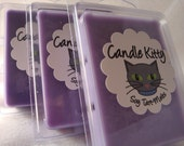 Gift set Your choice of 3 Purple Relaxing soy tart melts by candlekitty on Etsy