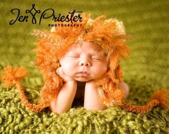 Little Lion Earflap Hat