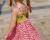 SADDIE Twirl dress with sash -pdf tutorial - ebook