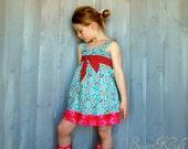 JOY  Easy Top or Dress - Pdf Tutorial  - Ebook - 3M-12Y