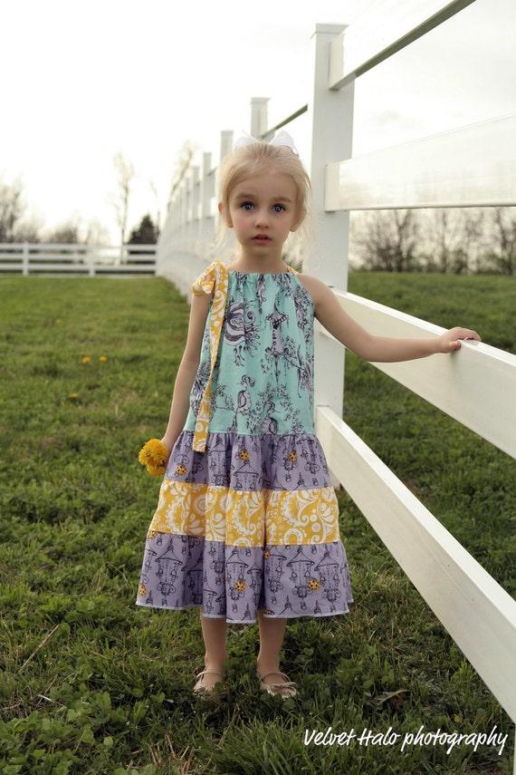 Zizi  Dress  - Ebook - Pdf tutorial