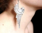 Military Wing earrings (Silver plated)