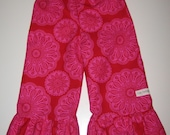 Ruffle Pants - Red & Pink 6/9m, 12m, 18m, 2t, 3t, 4t, 5t