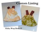 Reversible Halley Wrap Dress - 2T