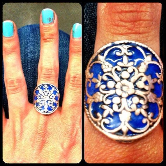 Cobalt Copper Ring Shield
