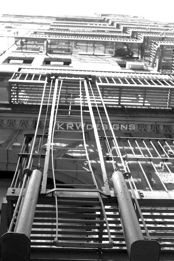 Fire Escape New York City 1940s : Fire escape new york city
