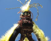 Voodoo Bird the  One of a  Kind Voo De Doo Wishing Doll