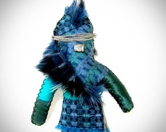 Protection Voo Doo Doll One of a Kind Handmade Wishing Doll