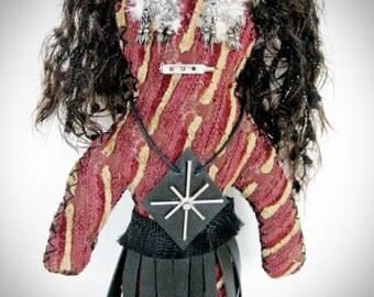 Tribal Voodoo Doll One of a Kind Handmade Wishing Doll