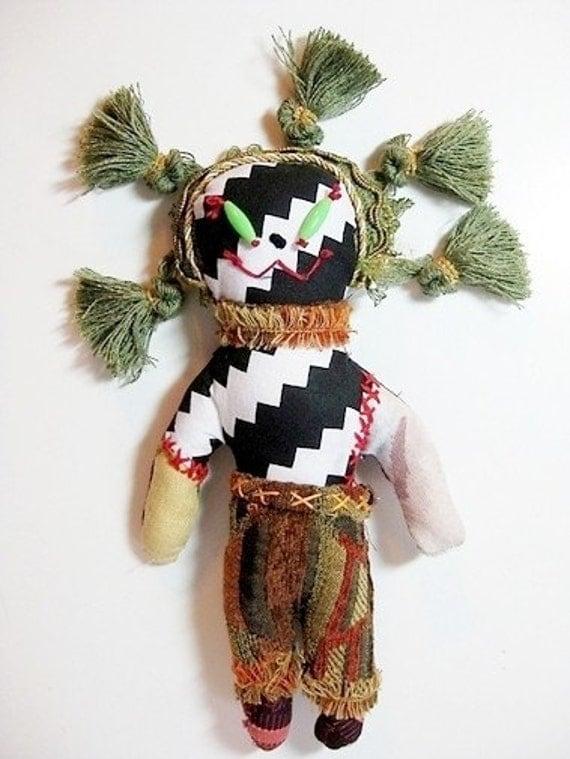 JuJu Wishing Doll One of a Kind Handmade