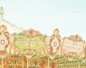 Dreamy Carousel Part 4    8 x 8 Fine Art Photograph