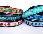 Any 1 inch Dog Collar  - Medium to XL - make it custom for your pup