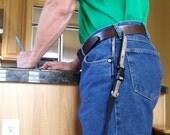 Hands Free Dog Leash, PetTraining Leash, Buckle Handle Leash, 5/8, 3/4, or 1 inch Width, 3, 4, 5, 6 feet lengths