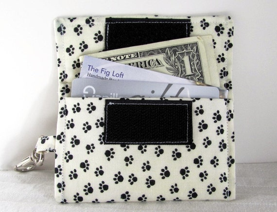 Keychain business card holder paw prints on by for Keychain business cards