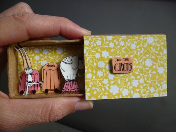 Join the Circus miniature diorama