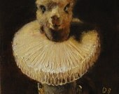 Alpaca with Ruff - ACEO LE