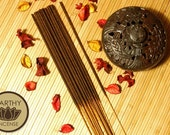WARM VANILLA and HONEY Incense Sticks - Hand-Dipped Premium Bamboo Incense - by Earthy Incense