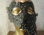 black mask for masquerade carnival party