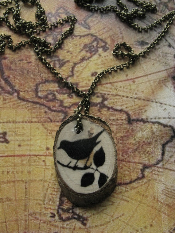 woodworking necklace tree Gift for Free shipping