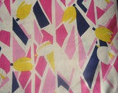 RESREVED FOR METTE Retro vintage Tulip cotton fabric