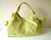 Green Velvet  Bag, Shoulder Bag, Handbag