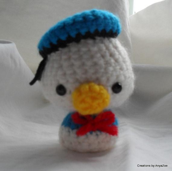 Donald Duck amigurumi by AnyaZoe on Etsy