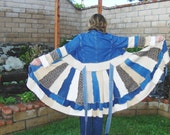 ELF PIXIE SWEATER coat.. Sweater Coat. Denim Jacket with sweaters for skirt.