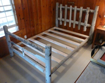 Fence post bed