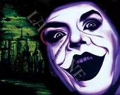 11x14in Jack the Joker Original Art Classic Horror Signed Print