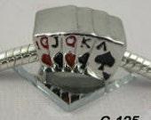 Playing cards - European Big Hole Charm
