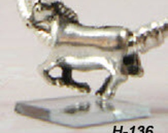 Horse - European Big Hole Charm