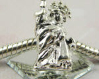Statue of Liberty - European Big Hole Charm
