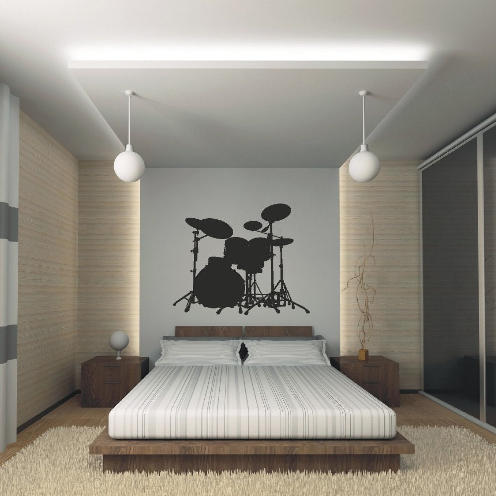 Drum Set Wall Decor : Etsy your place to buy and sell all things handmade