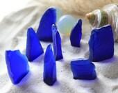 Gorgeous Cobalt Blue Extra Thick Beach Glass Sea Glass Pieces
