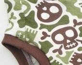 Cloth Training Pants - Convertible - XS Camo Skulls
