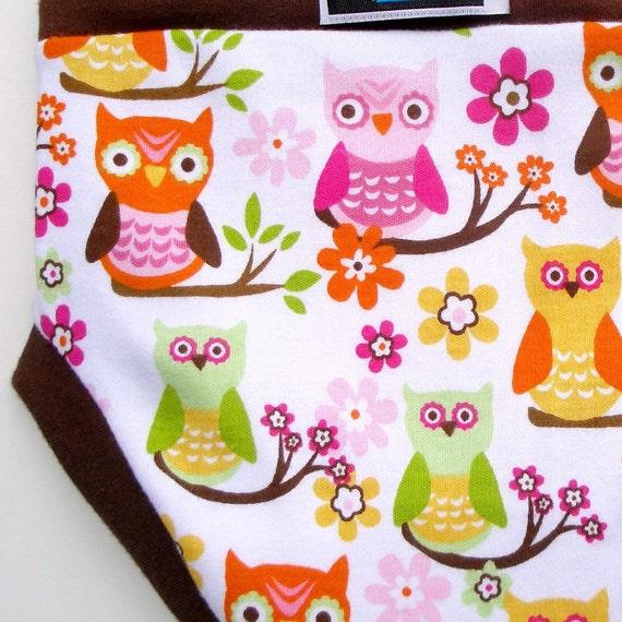 Cloth Training Pants - Convertible - LG Autumn Owls