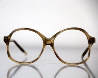 Retro plastic eyeglasses from Soviet Union