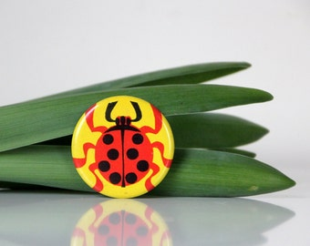 Ladybug, adorable pin from USSR