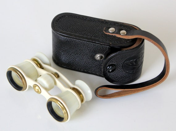Lovely Russian opera binoculars from USSR, 1974, in original case