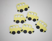 School Bus Cut Outs- Sets of 25