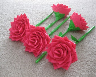 3 Duct Tape Roses